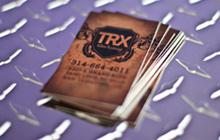 TRX Tattoo Business Cards - Phoenix Dsgn